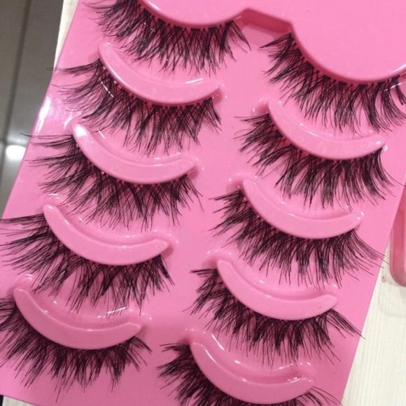 Makeup New Cheap Affordable Eyelashes 5 Pairs Poshmark